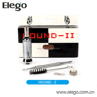 Most Competitive Price & Excellent Performance Dry Herb Cartomizer 510 Hound 2 Wholesale