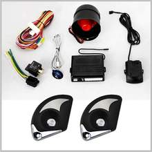 Lixing universal remote control viper car alarm system 1 way automobile anti-theft alarm system
