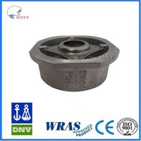 2015 Latest Version Ritag Wafer Type Double Door Check Valve
