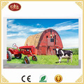 Beautiful Farmland Artwork Picture Painting