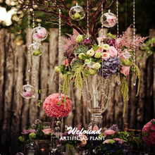 Cheaper Sale Glass Ball for Hanging Glass,Glass Candelabra Wedding