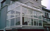 Laminated glass roof aluminum sun house/winter garden