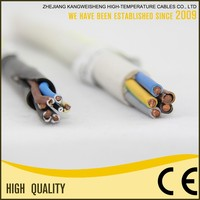 Excellent Quality Low Price H05VV-F Copper Conductor 4 Core Power Cable