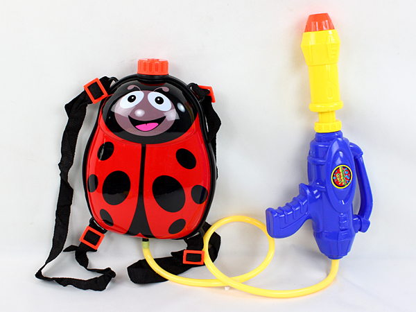 Hot Sell Plastic Water Gun With Beetle Design Bag ,Summer Toy Water Gun With Bag,Cartoon Water Gun Toy For Kids