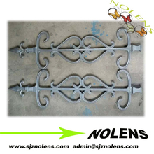 Balutrade made of Pig Cast Iron from Branded Factory,Cast Steel ,Forged Iron Ornaments