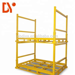 DY74 Metal Logistic Stacking Rack system in Assembly Workshop