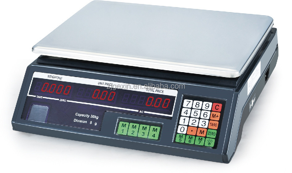 electronic weighing scale parts calibration electronic scale acs GX-208