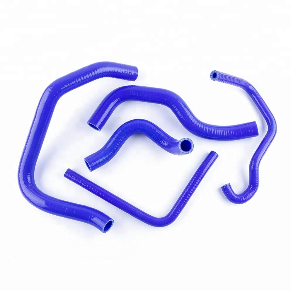 Blue Coolant Pipe Silicone Radiator Hose for Kawasaki Ninja ZX6R ZX600J ZX 600 <strong>J</strong> 1998-2002