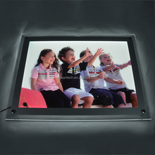 Acrylic advertising Led backlit Magnetic Display Slim Cinematic Display A1 led lightbox