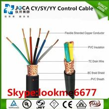 300/300v pvc 17awg copper flexible 4 core 1mm control cable