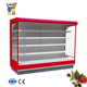 E7 Auckland seafood/ fresh meat/ milk cooling display cabinet for supermarket