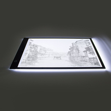 Newlight A4 LED Stencil Board Light Box Artist Art Tracing Drawing Copy Plate Table kids Drawing Pad