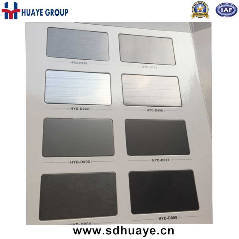 High Quality PVD Colored Stainless Steel Sheets Black Titanium, Grey, Rose Gold, Rosy, Brown, Wine Red, Bronze