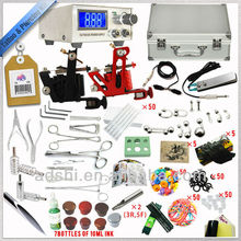 2014 cheapest tattoo and piercing starer kit nice use tattoo machine