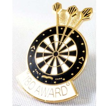 High quality custom 180 darts pin badge