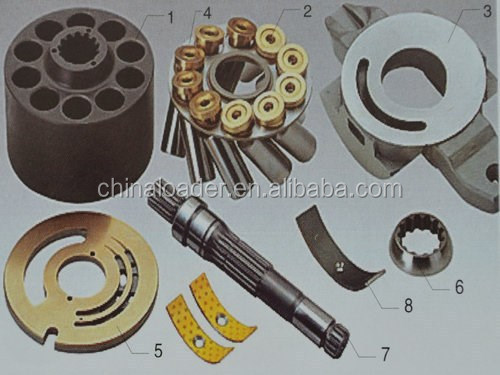 Spare Parts For NACHI HYDRAULIC PUMP PVD-2B-32/34/36/38/40/42/45/50