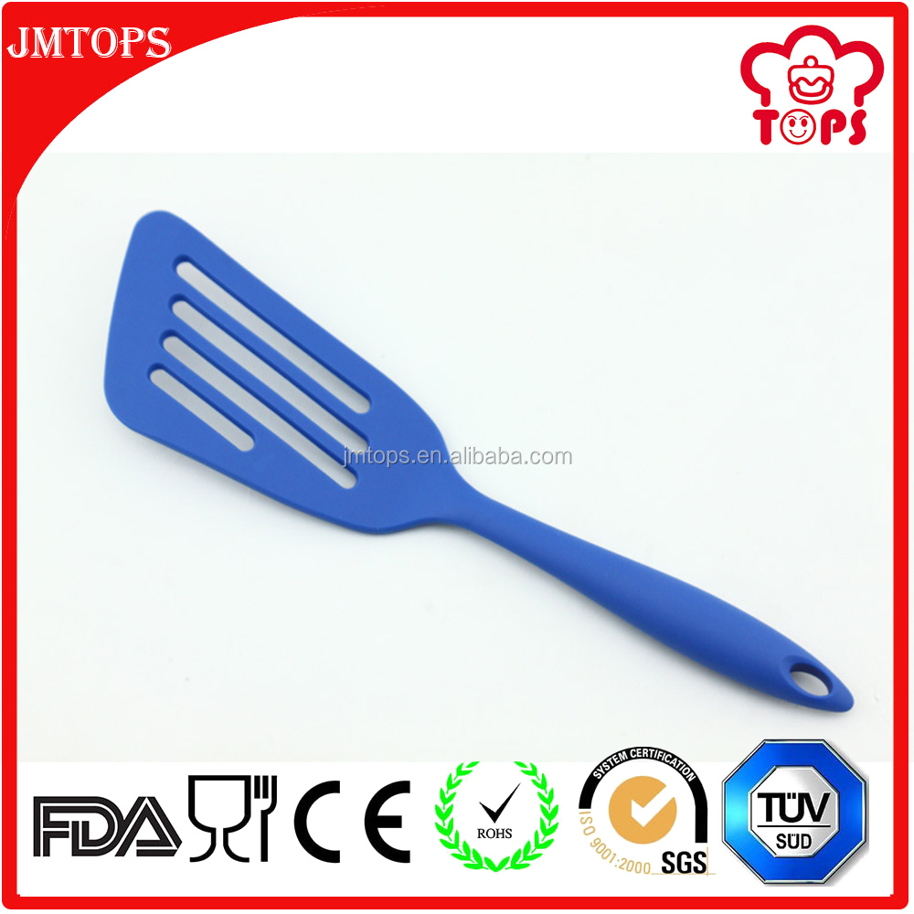 Silicone Cooking Utensils Slotted Turner,Creative Silicone Slotted Pancake Turner for Egg, Fish Cooking