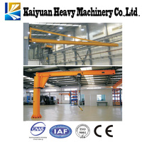 Lifting equipment column Jib crane with swing arm for Somali