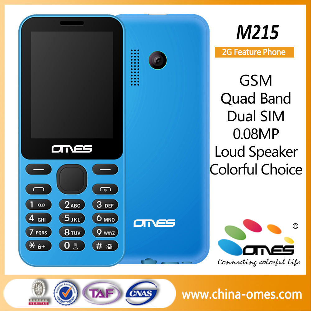 2016 Wholesale M215 Very Low Price range China Mobile Phone Dual SIM FM Radio Low Price China Mobile Phone with Whatsapp
