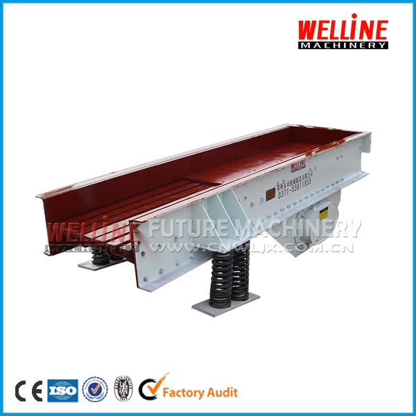 High capacity stone crushing plant mining grizzly feeder,vibrating feeder price for sale