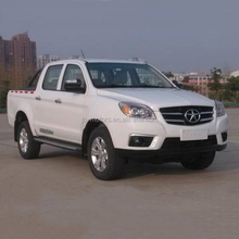 Low price JAC 4x4 diesel double cabin pickup with high quality for sale