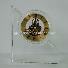 Fashion Low Price K9 Souvenir Crystal Desk Table Clock