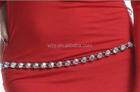 wuchieal belly dance costume gem waist chain for sale(YL134)