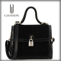 Fashionable lady Hot selling no name leather handbags