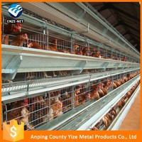 Chicken Use and WELDED MESH Type domestic automatic egg chicken cage