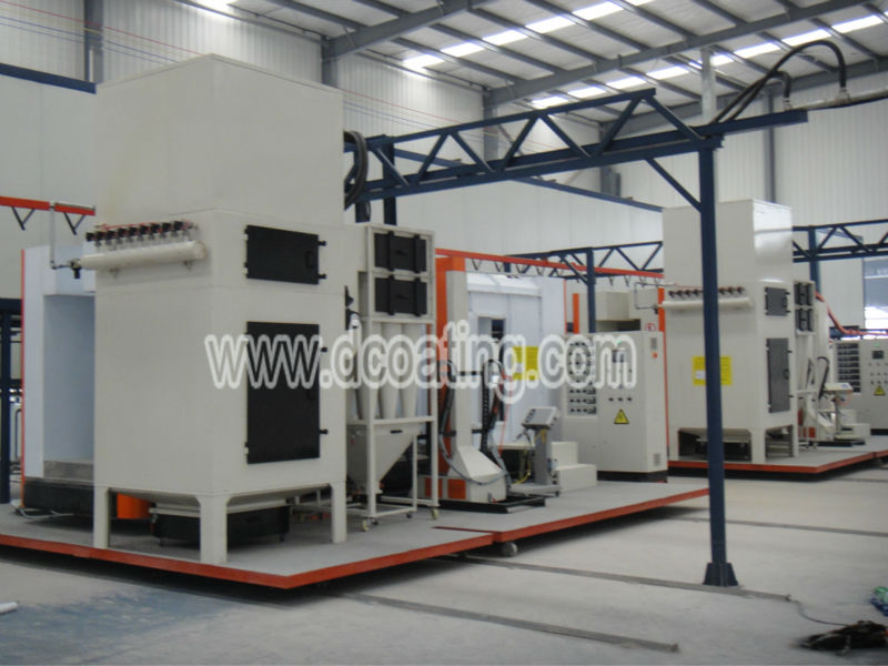 Used automatic/manual powder coating equipment