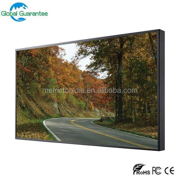 super thin bezel /seamless 3x3 47 inch DID LCD video wall with 4x4 HDMI matrix switcher video wall
