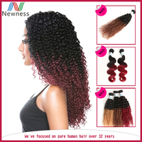 no tangle no shed newest excellent quality nice 100% colored brazilian hair weave