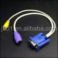 CE certificate VGA to TV cable male to female rca vga adapter