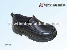 2014 fashion new style fancy black student shoes school shoes for boys