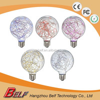 new products 2016 led fancy vintage starry globe lighting bulb with 85 - 265 V and e27 e26 b22 base