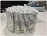 rhinestone hot fix plastic belt trimming elastic ss20 crystal ab 5mm