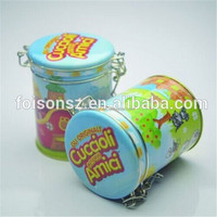 Tinplate with food grade tea metal box packaging also for coffee can coffee bean container with black tea bank