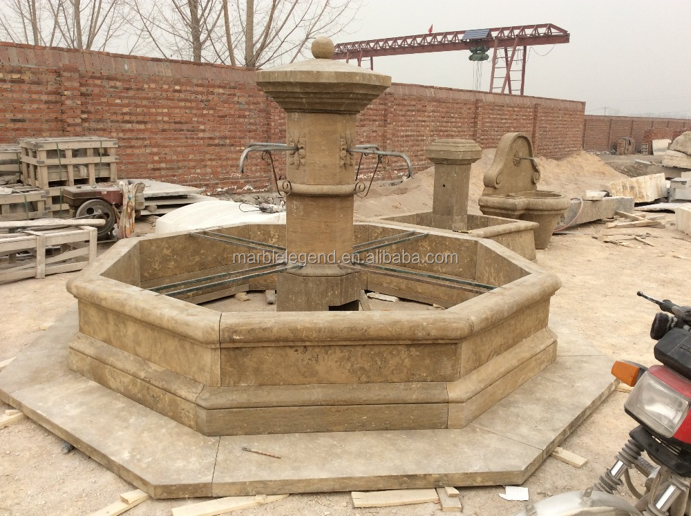 chinese large wall mounted outdoor stone fountains for sale