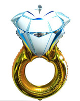 Diamond ring balloon customized shape wholesale children gift