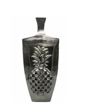 Electroplating ceramic vase with pineapple decoration
