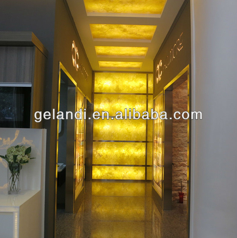SGS Approved Solid Surface Acrylic, Translucent Solid Surface Acrylic, Decorative Translucent Resin Panel