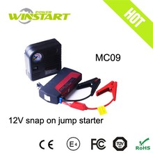 With pump and safety hammer 12v 12000mah emergency power bank mini car jump starter