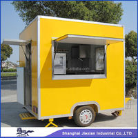 2014 Commercial Stainless Steel Mobile Snack Food Serving Car