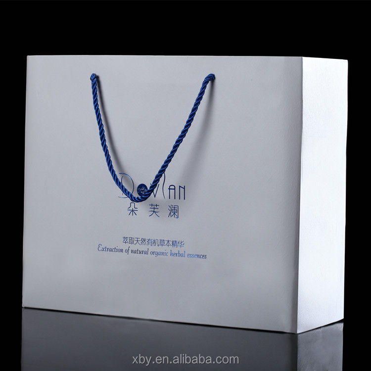 Eco Friendly die cut handle paper bag ,luxury paper shopping bag,shopping paper bag making machine