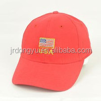 promotional mens cotton caps and hats for country flag