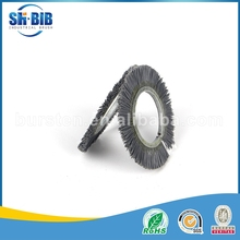 abrasive nylon rust removal outward coil brush