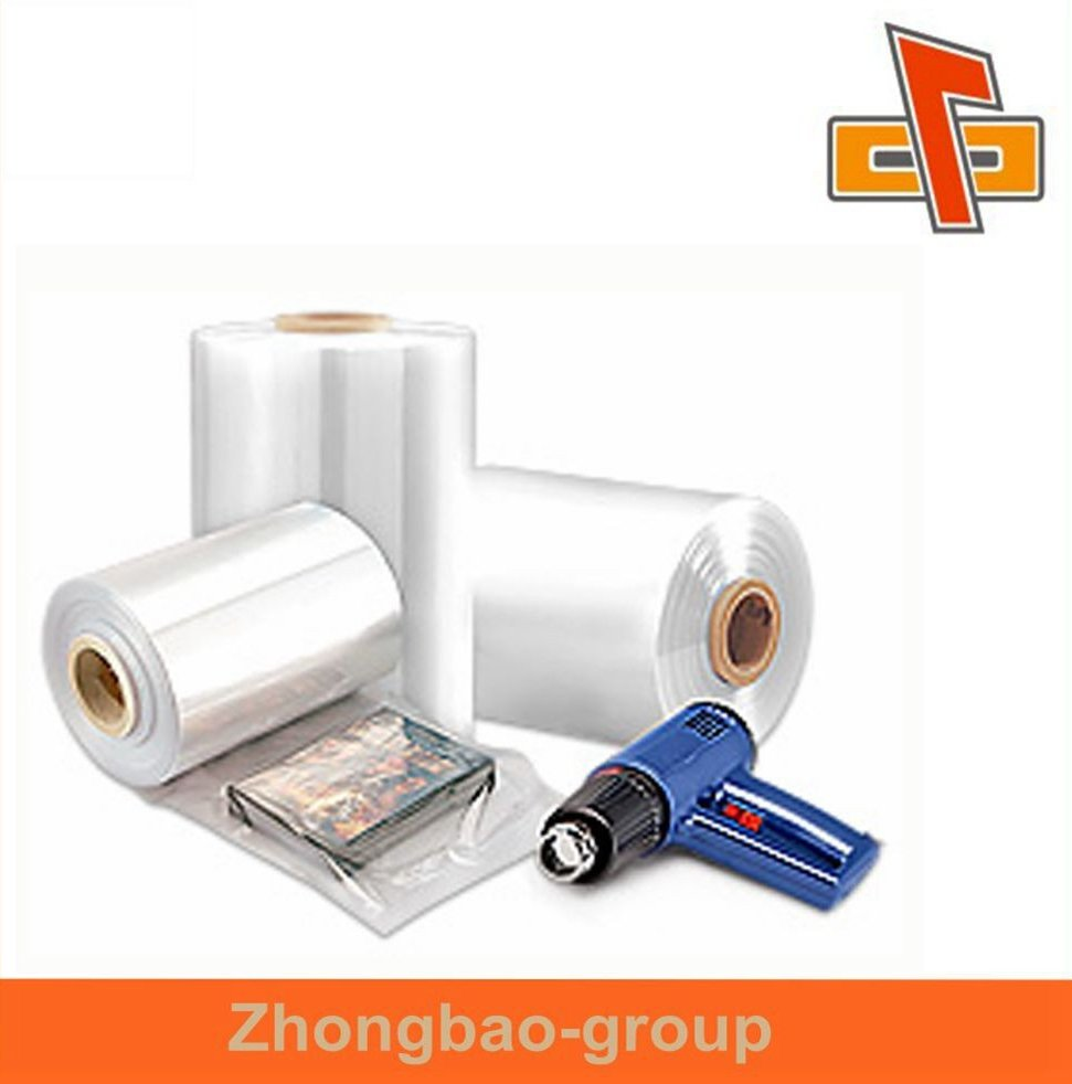 Electrostatic treatment PVC roll film, plastic shrink fill with high technology