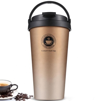 Double Wall Thermal Steel Thermal Water bottle for coffee