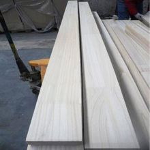 Cheap Lumber Finger Joint Wood Blanks Paulownia Wood for Surfboards