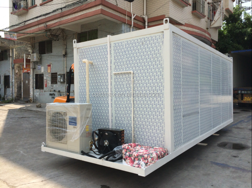 movable portable mobile cold room for vegetabel and food
